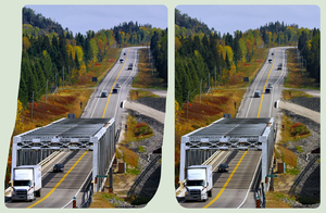 Trans-Canada Highway 17 near Marathon 3D by zour