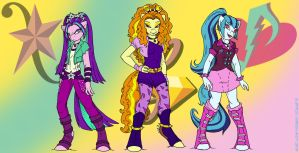 Some Dazzlings by MustLoveFrogs