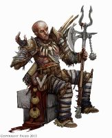 Pathfinder: Bloodrager by BadInspiration