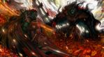 """Last Yggdrasil""""Flame at End"""" by DigitalOme"""