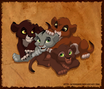 Cubs by SickRogue