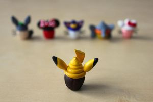 Pika Cupcake by lonelysouthpaw