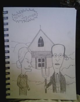 Beavis and Butthead by AbsintheLove