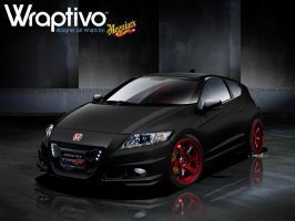 WRAPTIVO's Honda CR-Z Type-F by jonsibal