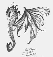 Dragon tattoo 2 by Jc2theW