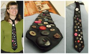 Button Tie by Sumbdumbkid