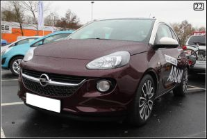Opel Adam by 22photo