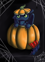 Pumpkin Dragon by Sofua