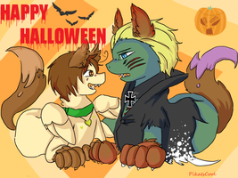 Happy Halloween -Gerita Ponies- by PikaIsCool