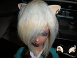 Teru's ears by candiedLapin
