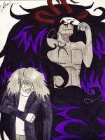 Yushi and Cerberus - Best buds by Agent-LaDue