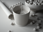 Glass shot 4, clay render by PureSpider