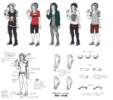 Joshwa Kesch Clothing Reference/Examples by strxbe
