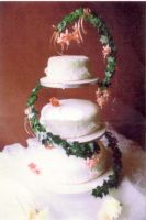 the first wedding cake i made by ah-Grasshopper