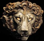 Lion sconce by Reptangle