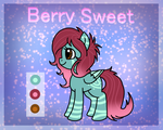 Berry Sweet Ref Sheet (Contest Prize) by foxgirlKira