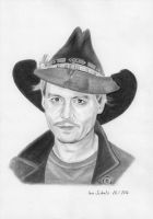 Johnny Depp - Anaheim 2014 by shaman-art