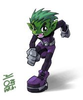 BeastBoy - Running by aun61