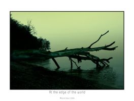 At the edge of the world III by raun