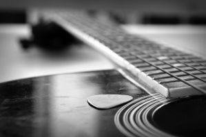Pick, the instrument of God by hendur