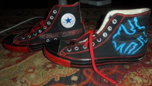 Devil May Cry Vs Chuck Taylors by ShinAquil