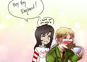 .:Make England / Arthur Feel Uncomfortable Game:. by AllTheLittleWonders