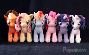 my pony collection by lemonkylie