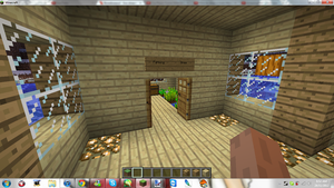 Minecraft My New Home ( Farming Area ) by MikaMori