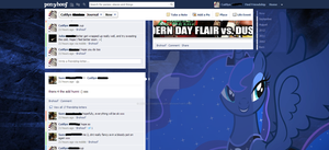 Ponified Facebook - Luna by Angelicsweetheart