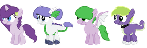 Shipping Adopt Batch 6: Sparity (Closed) by RaindropLily