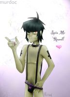 Murdoc will Spin you 'Round by GorillazRaven