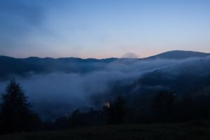Fog In The Valley ll by rammicee