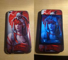 New Gelaskin for Ipod Touch :D by passionfyre