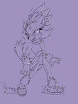 Blaze Lineart Test by MakTheHedge01