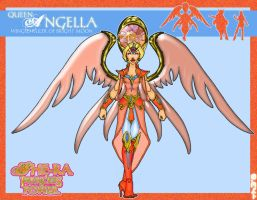 my Angella concept by OctobersDream