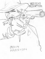 Red Dead Redemption John Marst by Wanted75