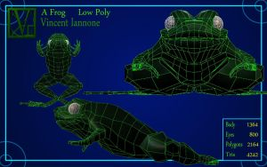 A Frog - Low Poly by DeaconStone
