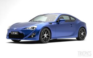 Toyota FT86 WIP4 by The-IC