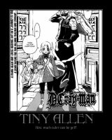 D.Gray-Man Tiny Allen by Onikage108
