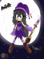 Art Trade: Selania As A Witch by Flame-of-Icarus