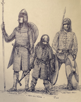Defenders of the Lonely Mountain by woutart