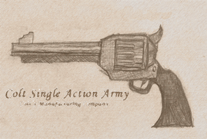 Colt Single Action Army by AccoSpoot
