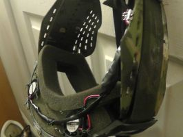 Airsoft Mask modification 1 by FUBARProductions