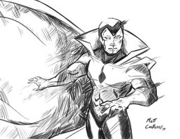 Marvel Madness: Vision by MattCarberry