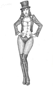 Zatanna by GosterMonster
