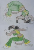 Capoeira Kitty. by Drawing-4Ever
