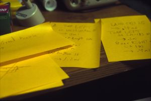 Post-it Note Directions by Dragonhead