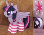 Plush Princess Twilight Sparkle by Zorza-6