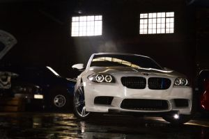 BMW M5 Halo by UtopiaSkyPhotoWorks
