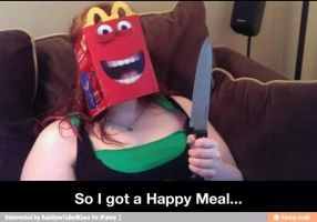 Happy meals now a days by SONAMYFAN4EVR